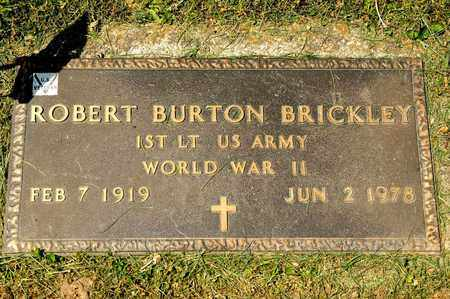 BRICKLEY, ROBERT BURTON - Richland County, Ohio | ROBERT BURTON BRICKLEY - Ohio Gravestone Photos