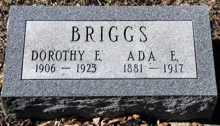 BRIGGS, ADA E - Richland County, Ohio | ADA E BRIGGS - Ohio Gravestone Photos