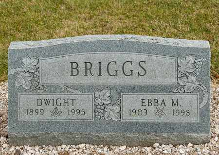BRIGGS, DWIGHT - Richland County, Ohio | DWIGHT BRIGGS - Ohio Gravestone Photos