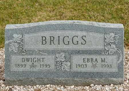BRIGGS, EBBA M - Richland County, Ohio | EBBA M BRIGGS - Ohio Gravestone Photos