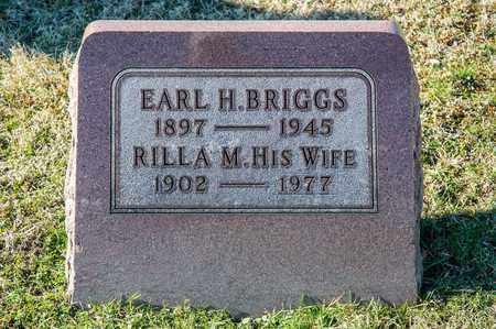 BRIGGS, EARL H - Richland County, Ohio | EARL H BRIGGS - Ohio Gravestone Photos