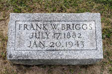 BRIGGS, FRANK W - Richland County, Ohio | FRANK W BRIGGS - Ohio Gravestone Photos