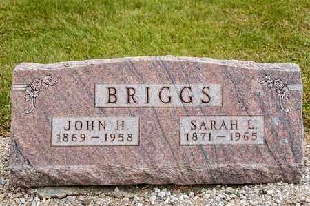 BRIGGS, JOHN H - Richland County, Ohio | JOHN H BRIGGS - Ohio Gravestone Photos
