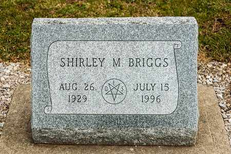 BRIGGS, SHIRLEY M - Richland County, Ohio | SHIRLEY M BRIGGS - Ohio Gravestone Photos