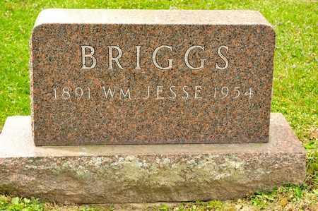 BRIGGS, WILLIAM JESSE - Richland County, Ohio | WILLIAM JESSE BRIGGS - Ohio Gravestone Photos
