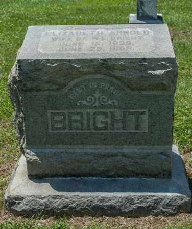 BRIGHT, ELIZABETH - Richland County, Ohio | ELIZABETH BRIGHT - Ohio Gravestone Photos