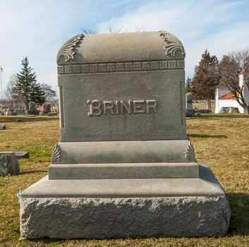 BRINER, MARGARET E - Richland County, Ohio | MARGARET E BRINER - Ohio Gravestone Photos