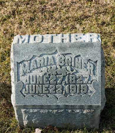 BRINER, MARIA - Richland County, Ohio | MARIA BRINER - Ohio Gravestone Photos
