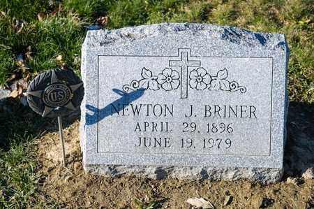 BRINER, NEWTON J - Richland County, Ohio | NEWTON J BRINER - Ohio Gravestone Photos