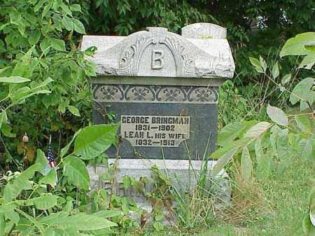 BRINGMAN, GEORGE - Richland County, Ohio | GEORGE BRINGMAN - Ohio Gravestone Photos