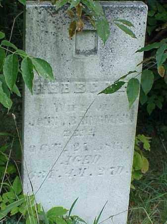 BRINGMAN, REBECCA - Richland County, Ohio | REBECCA BRINGMAN - Ohio Gravestone Photos