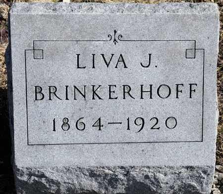 BRINKERHOFF, LIVA J - Richland County, Ohio | LIVA J BRINKERHOFF - Ohio Gravestone Photos