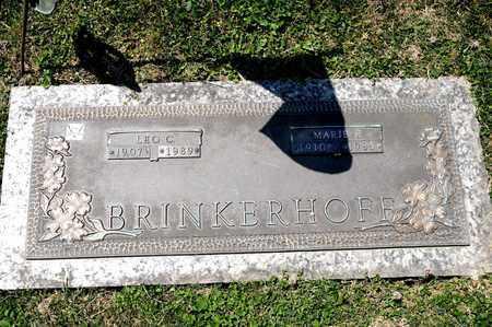 BRINKERHOFF, LEO C - Richland County, Ohio | LEO C BRINKERHOFF - Ohio Gravestone Photos