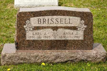 BRISSELL, ANNA J - Richland County, Ohio | ANNA J BRISSELL - Ohio Gravestone Photos
