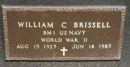 BRISSELL, WILLIAM C - Richland County, Ohio | WILLIAM C BRISSELL - Ohio Gravestone Photos