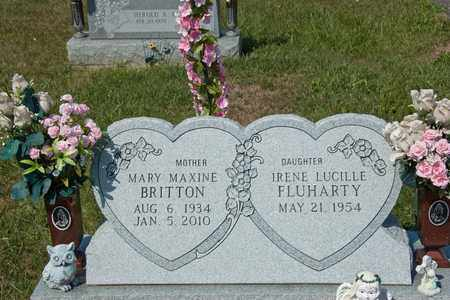BRITTON, MARY MAXINE - Richland County, Ohio   MARY MAXINE BRITTON - Ohio Gravestone Photos
