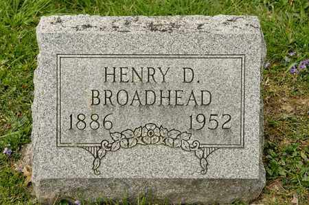 BROADHEAD, HENRY D - Richland County, Ohio | HENRY D BROADHEAD - Ohio Gravestone Photos