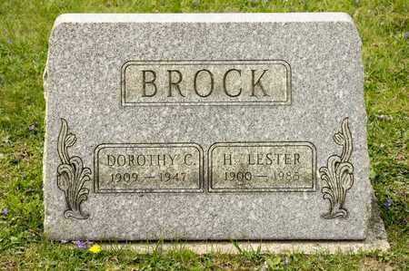 BROCK, DOROTHY C - Richland County, Ohio | DOROTHY C BROCK - Ohio Gravestone Photos