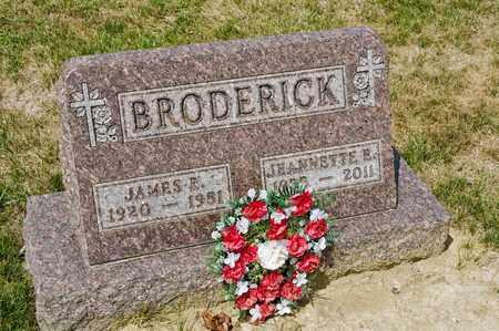 BRODERICK, JEANNETTE E - Richland County, Ohio | JEANNETTE E BRODERICK - Ohio Gravestone Photos