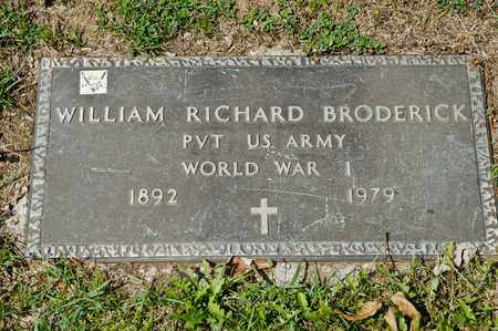 BRODERICK, WILLIAM RICHARD - Richland County, Ohio | WILLIAM RICHARD BRODERICK - Ohio Gravestone Photos
