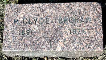BROKAW, H CLYDE - Richland County, Ohio | H CLYDE BROKAW - Ohio Gravestone Photos