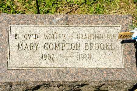 BROOKE, MARY COMPTON - Richland County, Ohio | MARY COMPTON BROOKE - Ohio Gravestone Photos