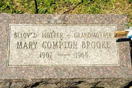 BROOKE, MARY COMPTON - Richland County, Ohio | MARY COMPTON BROOKE - Ohio Gravestone Photos