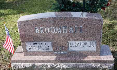 BROOMHALL, ROBERT E - Richland County, Ohio | ROBERT E BROOMHALL - Ohio Gravestone Photos