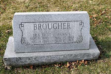 BROUGHER, ANNA E - Richland County, Ohio | ANNA E BROUGHER - Ohio Gravestone Photos