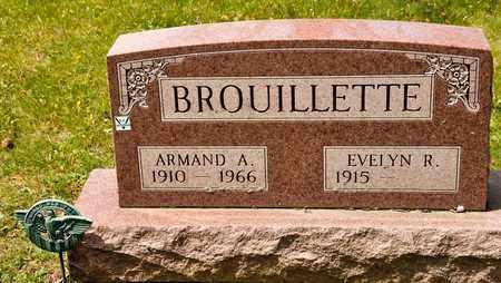 BROUILLETTE, ARMAND A - Richland County, Ohio | ARMAND A BROUILLETTE - Ohio Gravestone Photos