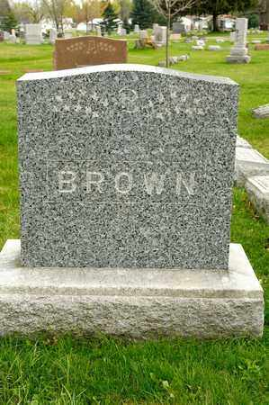BROWN, ELIZABETH - Richland County, Ohio | ELIZABETH BROWN - Ohio Gravestone Photos