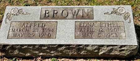 BROWN, EDNA ETHEL - Richland County, Ohio | EDNA ETHEL BROWN - Ohio Gravestone Photos