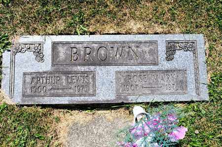 BROWN, ARTHUR LEWIS - Richland County, Ohio | ARTHUR LEWIS BROWN - Ohio Gravestone Photos