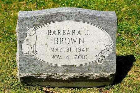 BROWN, BARBARA J - Richland County, Ohio | BARBARA J BROWN - Ohio Gravestone Photos