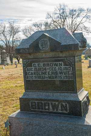 BROWN, CAROLINE E - Richland County, Ohio | CAROLINE E BROWN - Ohio Gravestone Photos
