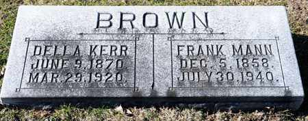 KERR BROWN, DELLA - Richland County, Ohio | DELLA KERR BROWN - Ohio Gravestone Photos