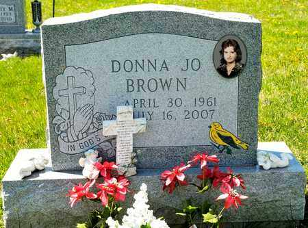 BROWN, DONNA JO - Richland County, Ohio | DONNA JO BROWN - Ohio Gravestone Photos