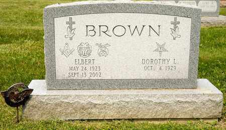 BROWN, ELBERT - Richland County, Ohio | ELBERT BROWN - Ohio Gravestone Photos