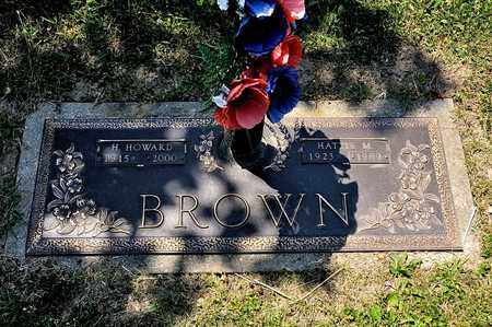 BROWN, H HOWARD - Richland County, Ohio | H HOWARD BROWN - Ohio Gravestone Photos