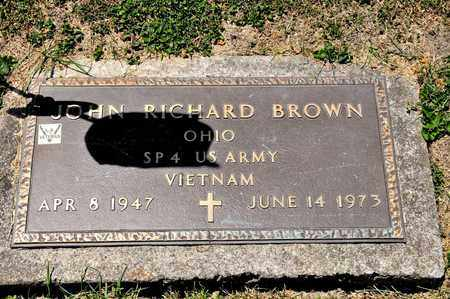 BROWN, JOHN RICHARD - Richland County, Ohio | JOHN RICHARD BROWN - Ohio Gravestone Photos