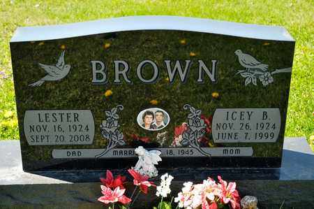 BROWN, ICEY B - Richland County, Ohio | ICEY B BROWN - Ohio Gravestone Photos