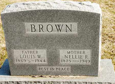 BROWN, NELLIE R - Richland County, Ohio | NELLIE R BROWN - Ohio Gravestone Photos