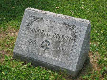 BROWN, MILDRED - Richland County, Ohio | MILDRED BROWN - Ohio Gravestone Photos