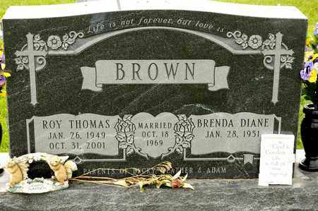BROWN, ROY THOMAS - Richland County, Ohio | ROY THOMAS BROWN - Ohio Gravestone Photos
