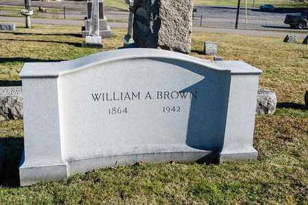 BROWN, WILLIAM A - Richland County, Ohio | WILLIAM A BROWN - Ohio Gravestone Photos