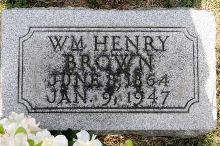 BROWN, WILLIAM HENRY - Richland County, Ohio | WILLIAM HENRY BROWN - Ohio Gravestone Photos