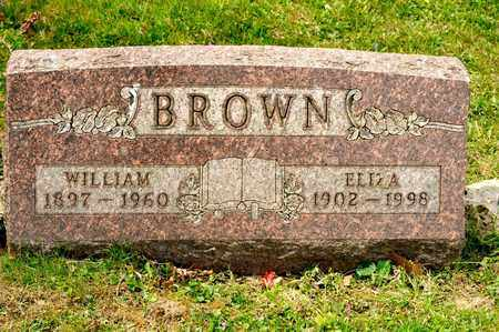 BROWN, ELIZA - Richland County, Ohio | ELIZA BROWN - Ohio Gravestone Photos