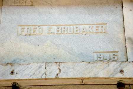 BRUBAKER, FRED E - Richland County, Ohio | FRED E BRUBAKER - Ohio Gravestone Photos