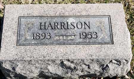 BRUBAKER, HARRISON - Richland County, Ohio | HARRISON BRUBAKER - Ohio Gravestone Photos