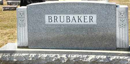 BRUBAKER, LILLIAN E - Richland County, Ohio | LILLIAN E BRUBAKER - Ohio Gravestone Photos